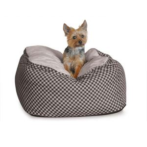 """Picture of K&H Pet Products Deluxe Cuddle Cube Pet Bed Large Black 30"""" x 30"""" x 12"""""""