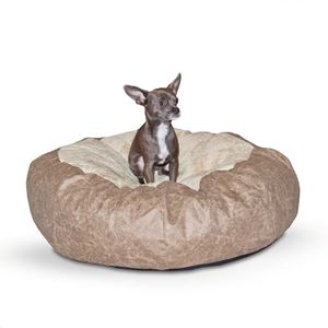 "Picture of K&H Pet Products Self Warming Cuddle Ball Pet Bed Large Tan 48"" x 48"" x 12"""