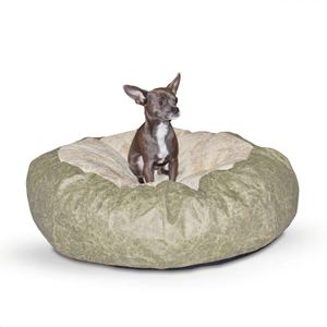 "Picture of K&H Pet Products Self Warming Cuddle Ball Pet Bed Large Green 48"" x 48"" x 12"""