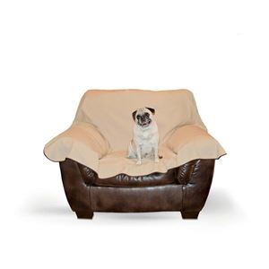 """Picture of K&H Pet Products Leather Lover's Furniture Cover Chair Chocolate 54"""" x 68"""" x 0.25"""""""