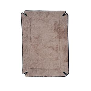 "Picture of K&H Pet Products Memory Foam Dog Crate Pad Mocha 32"" x 48"" x 0.5"""