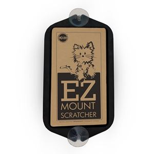 "Picture of K&H Pet Products EZ Mount Cat Scratcher Brown / Black 7.5"" x 15.5"" x 1"""