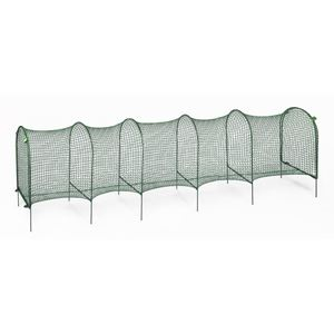 "Picture of Kittywalk Lawn Version Outdoor Cat Enclosure Green 120"" x 18"" x 24"""