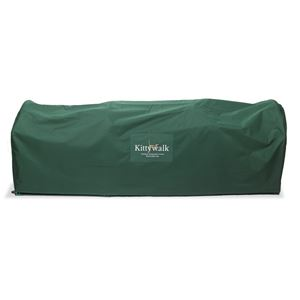 "Picture of Kittywalk Outdoor Protective Cover for Kittywalk Lawn Version Green 120"" x 18"" x 24"""