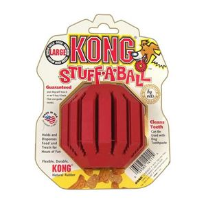 "Picture of Kong Stuff-A-Ball Dog Toy Large Red 7.5"" x 6"" x 3.5"""