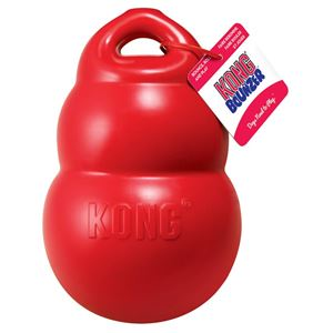 """Picture of Kong Bounzer Dog Toy Large Red 8.5"""" x 5"""" x 5"""""""