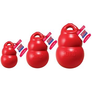 "Picture of Kong Bounzer Dog Toy Extra Large Red 11"" x 6.5"" x 6.5"""