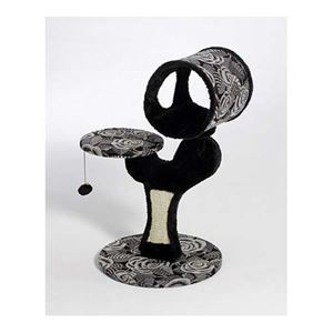 """Picture of Midwest Catitude Salvador Cat Furniture Black 22"""" x 17.75"""" x 30.75"""""""