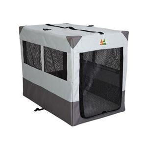 """Picture of Midwest Canine Camper Sportable Crate Gray 42"""" x 26"""" x 32"""""""