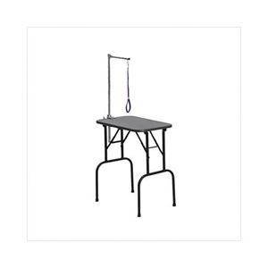 """Picture of Midwest Plywood Grooming Table with Arm Black 36"""" x 24"""" x 30"""""""