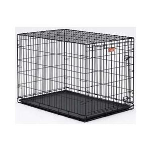 "Picture of Midwest Dog Single Door i-Crate Black 22"" x 13"" x 16"""