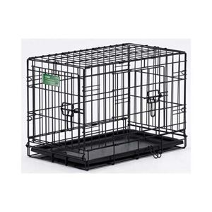 """Picture of Midwest Dog Double Door i-Crate Black 22"""" x 13"""" x 16"""""""