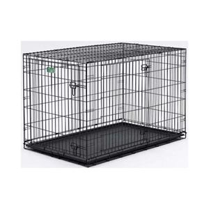 "Picture of Midwest Dog Double Door i-Crate Black 36"" x 23"" x 25"""