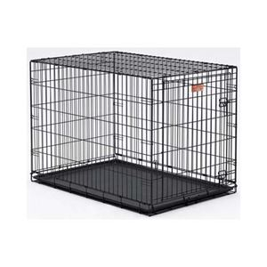 """Picture of Midwest Dog Single Door i-Crate Black 42"""" x 28"""" x 30"""""""