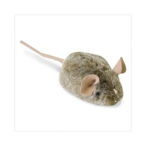 Picture of Our Pets Play-N-Squeak MouseHunter Brown