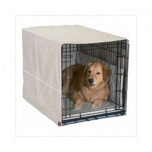 "Picture of Pet Dreams Classic Cratewear Dog Crate Cover Small Khaki 24"" x 18"""