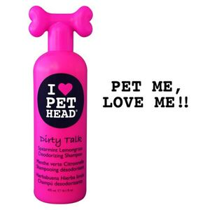 "Picture of Pet Head Dirty Talk Deodorizing Shampoo Spearmint Lemongrass 16oz 9"" x 3"" x 2.5"""