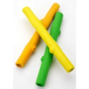 "Picture of Ruff Dawg Stick Dog Toy Lime 12"" x 5"" x 5"""