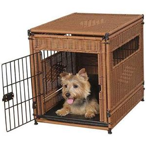 "Picture of Mr. Herzher's Pet Residence Small Dark Brown 20"" x 18"" x 21"""