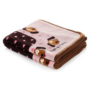"Picture of Smart Pet Love Snuggle Dog Blanket Pink 48"" x 32"""
