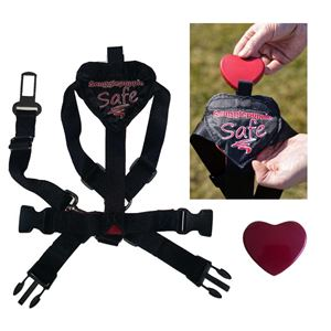Picture of Smart Pet Love Safe and Sound Pet Harness Small Black