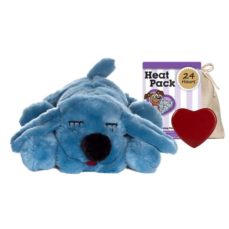 Smart Pet Love Snuggle Puppy Pet Behavioral Aid Toy Blue