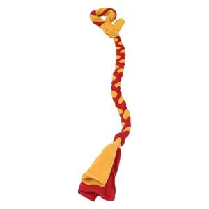 "Picture of Tether Tug Braided Fleece Replacement Tether Toy Assorted Colors 30"" x 2"" x 2"""