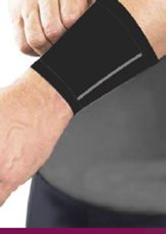 Picture of Doctor's Choice Compression Wrist Sleeve  *** DISCONTINUED ***