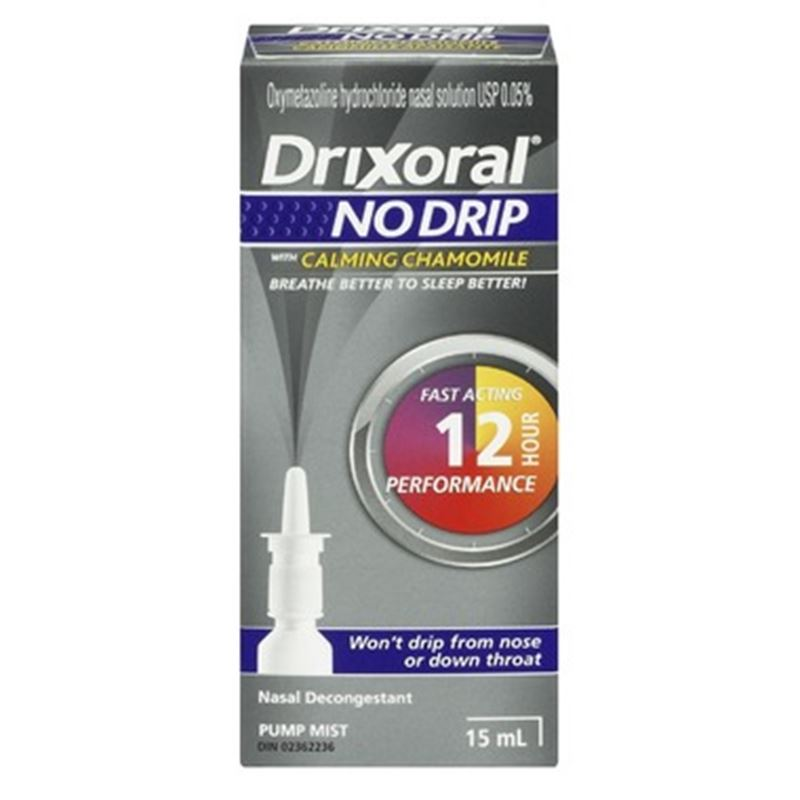 Picture of Drixoral NO DRIP with Chamomile Nasal Decongestant ** NOT AVAILABLE **