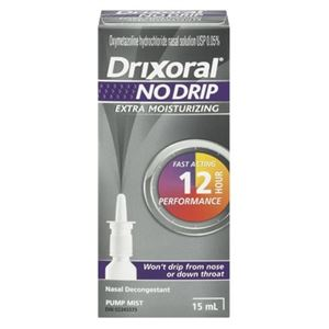 Picture of Drixoral NO DRIP Extra Moisturizing Nasal Decongestant