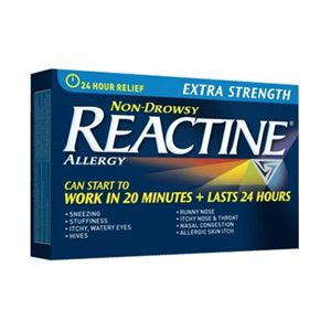 Picture of Reactine Allergy Extra Strength 24 hour