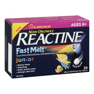Picture of Reactine Allergy Junior Fast Melt Tablets
