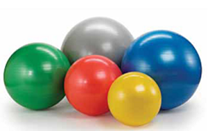 Picture of Theraband Exercise Ball Silver
