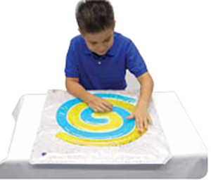 Picture of Spiral Gel Pad - Used with Light Box