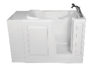 Picture of American Standard Walkin Bath Product Features: 2848 Whirlpool - Right hand drain