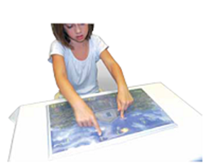 Picture of Gel Foam Picture Frame - City Scene