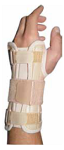 Picture of Elastic Splint Wrist Ambidextrous L/XL