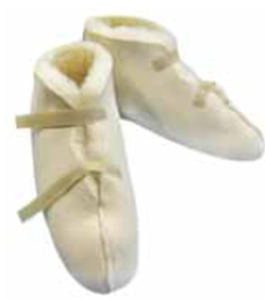 Picture of Convalescent Wool Pile Boots: Large (Sold in a Pair)