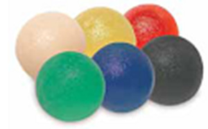 Picture of Gel Hand Exercise Ball:  large - 6 pc set