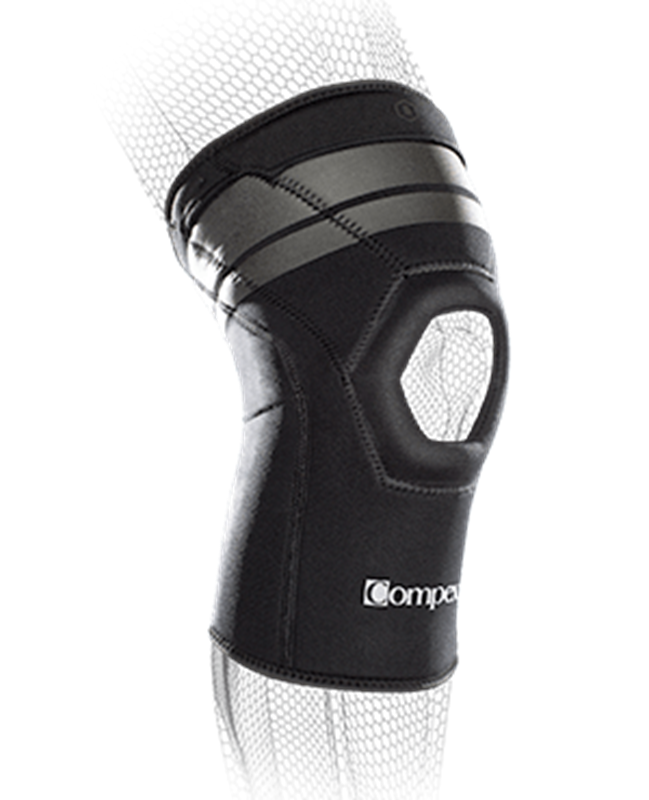 Picture of COMPEX ANAFORM 4MM Compression Knee Sleeve with Patella Opening ** NOT AVAILABLE **