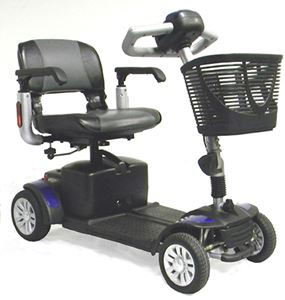 Picture of Spitfire EX 1420 4-Wheel Scooter  ** DISCONTINUED **
