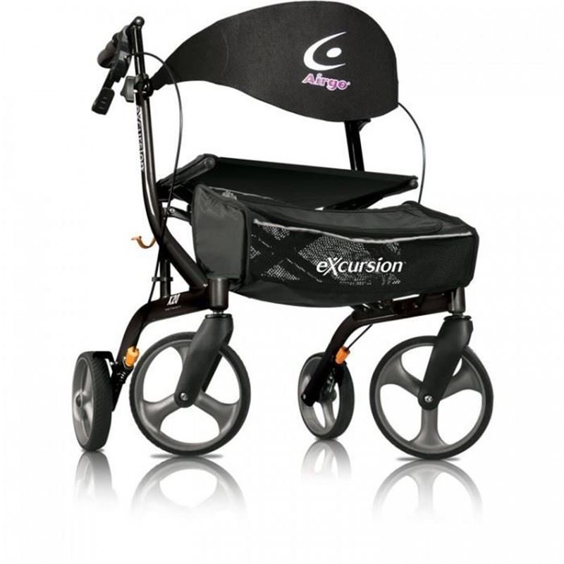Picture of Airgo Excursion X20 Rollator (Lightweight, Side Folding Walker)