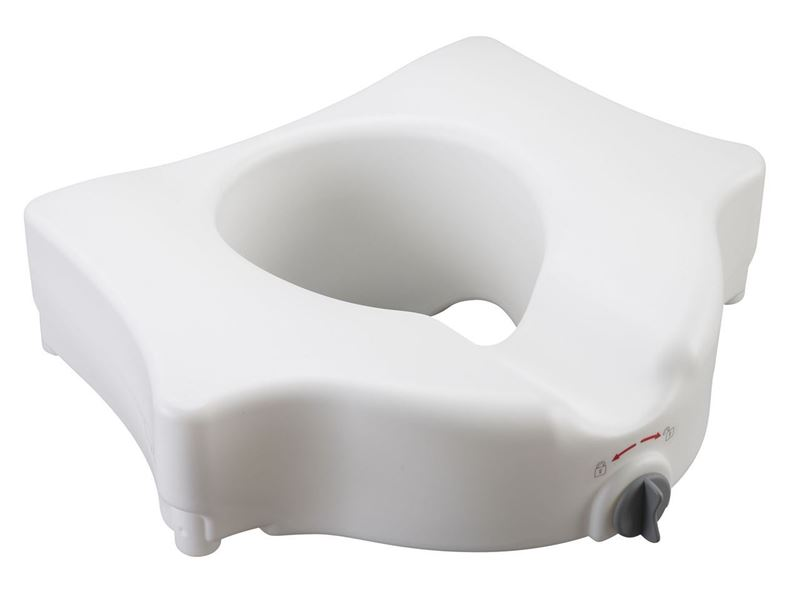 Picture of Locking Raised Toilet Seat without Arms and Lid