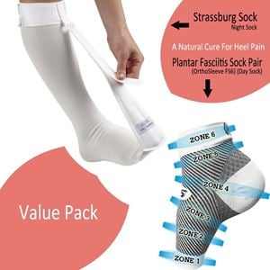 54d7f52a8b Picture of Strassburg Sock & Plantar Fasciitis Sock (FS6) Combo Pack
