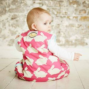 Picture of GROBAG - Baby Sleeping Bags Anorak- Kissing Rabbits ** NOT AVAILABLE **