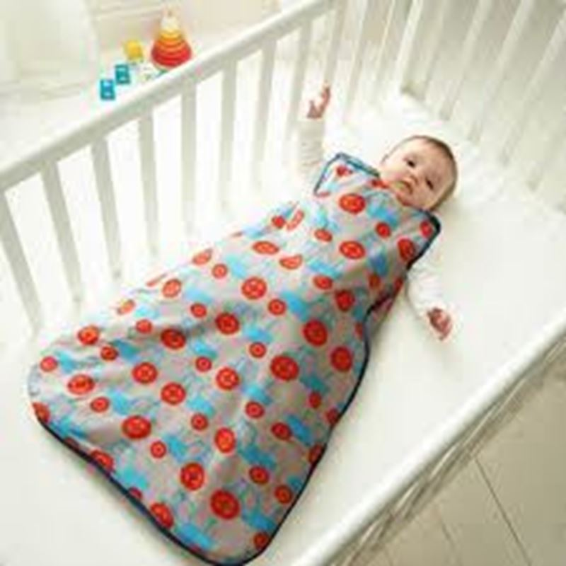 Picture of GROBAG - Baby Sleeping Bags Anorak- Trundling Tractors