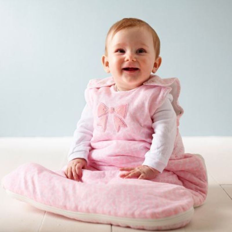 Picture of GROBAG - Baby Sleeping Bags For Travel Baby Bow