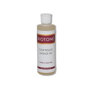 Picture of Biotone Clear Results Massage Oil 8 oz