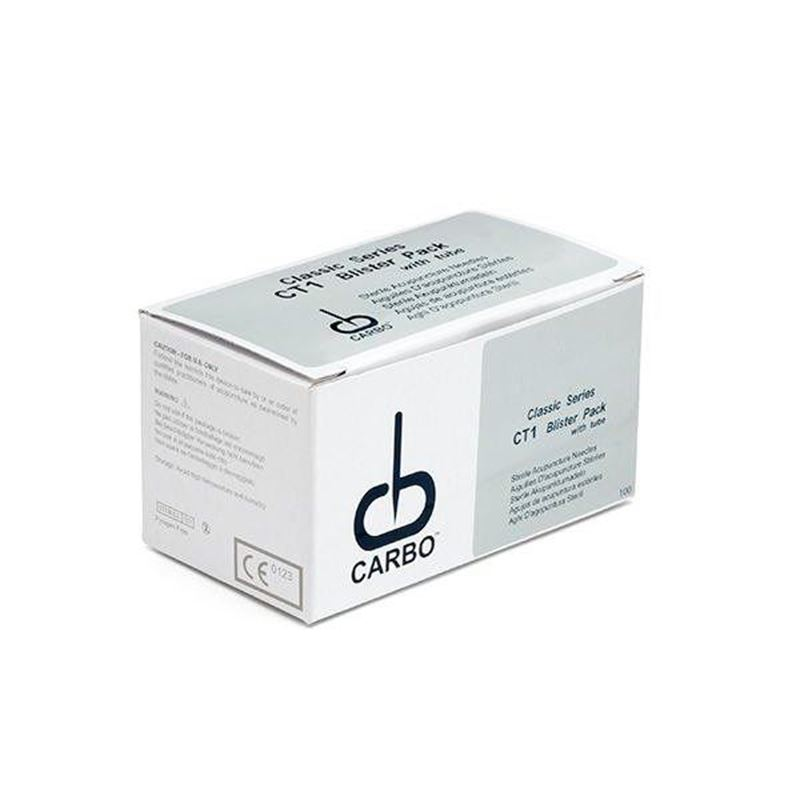 Picture of Carbo Acupuncture Needles with Tube 50 x 0,35 mm
