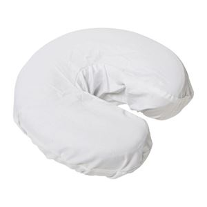 Picture of Comfort Flannel Face Rest Cover - White